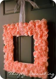 valentine wreaths for your front doorBeautiful DIY Valentines Wreath From Thrifty Decorating  Crafty