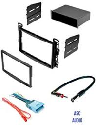 amazon com asc audio car stereo radio dash install kit wire asc stereo dash kit wire harness and antenna adapter for some chevrolet 2005