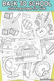 Choose from our diverse categories like cartoon coloring pages, disney coloring pages to animal coloring sheets, everything your kids want to colour you will find it here for free! Back To School Coloring Pages For Kids Itsybitsyfun Com
