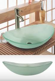 Glass Sink Bathroom 1000 Images About Bathroom Sinks On Pinterest Basin Sink Press