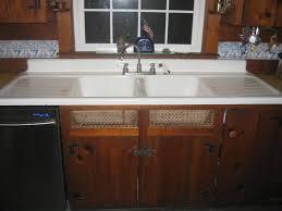 1948 vintage standard sanitary double basin double drainboard