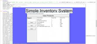 Home Inventory System Simple Inventory System In Python
