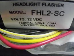 federal signal fhl2 sc headlight flasher new wiring diagram federal signal fhl2 sc headlight flasher new wiring diagram