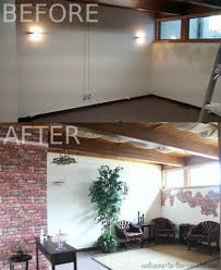faux brick and plaster wall finish photo tutorial the before and after is so cool