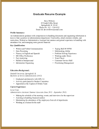 Sample Resume For A College Student With No Experience Free Summary 8a