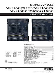 usb wiring diagram manual usb image wiring diagram yamaha mg166cx mg166c usb mixing console service manual on usb wiring diagram manual
