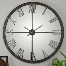 uttermost amelie 60 in large wall clock on uttermost large wall art with uttermost wall clocks hayneedle