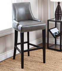awesome gray leather bar stools popular barstools inside 12 ege sushi in grey ordinary gray leather bar stools r7