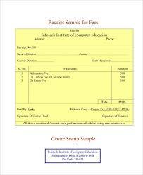 3 Fee Receipt Format Templates Pdf Word Free Premium