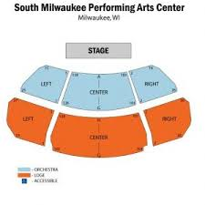 Pac Milwaukee Seating Chart 30 Eye Catching South Milwaukee Performing Arts Center