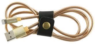 <b>Red Line S7</b>, Gold <b>кабель</b> Lightning-USB (1 м) — купить в ...