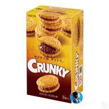Купить Бисквит с хрустящим шоколадом Lotte Crunky Biscuit в ...