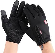 <b>1 Pair Bike Cycling</b> Motorcycle Full Finger Protective <b>Gloves</b> Cold ...