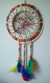 Dream Catcher Craft For Preschoolers Craft and Activities for All Ages Paper Plate Dream Catcher 2