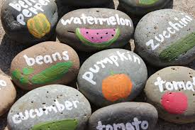 garden labels. Pebbles Labels Garden L