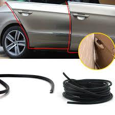 car styling hide car door protector door edge scratch crash strip protection auto rubber mouldings for