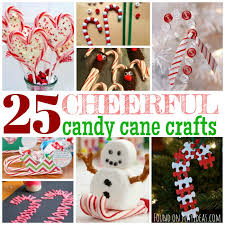 Christmas Decorations With Candy Canes 100 Cheerful Candy Cane Crafts For Kids 43