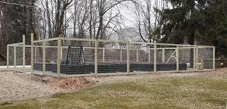 a garden fence finally the