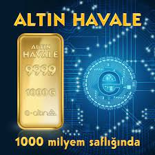 24 Ayar 1.000 Gr Hesaba Has Altın Havale Fiyatı