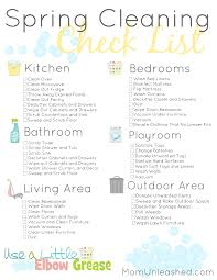 Spring Cleaning Checklist Mom Unleashed