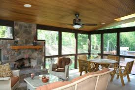 screened porch with outdoor fireplace swings monkey gif porches cafe wilmington nc large