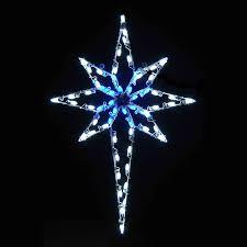 C7 Blue White Led Christmas Lights Led Star Of Bethlehem 4 8 Blue White