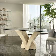 Esstisch Oval Glas Ausziehbar 15 Achat Perlen Edelsteine Natural