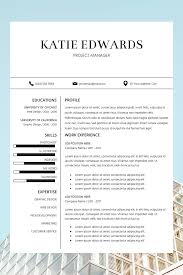 037 Creative Professional Resume Template Free Download