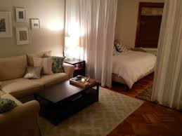 Studio Apartment Design Ideas another good alternative for studio apartments needing a room divider bookshelves and curtains work wonderfully