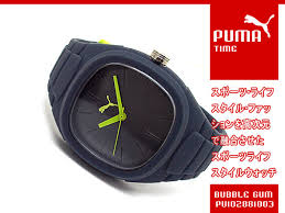 1more rakuten global market puma thyme men watch bubble gum l puma thyme men watch bubble gum l gray pu102881003