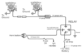 wiring diagram for a horn relay travelwork info wire car horn wiring diagram manual at Car Horn Wiring Diagram