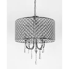 Gallery of Awesome Best Drum Chandelier With Crystals Pixball Of Crystal  Easy Silver Mist Hanging Shade By Inspire Q On Ceiling Cylinder Pendant  Light ...