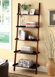 Bookshelf Lighting Amazoncom Furniture Of America Klaudalie 5 Tier Ladder Style