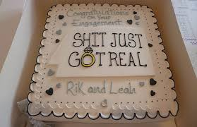 Engagement Cakes Piece Of Cake Bristol