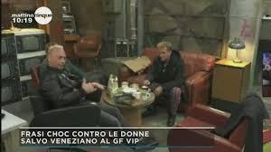 Salvo Veneziano, frasi Choc al Grande Fratello Vip 2020, verrà  squalificato?
