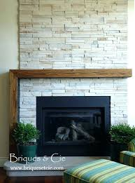 thin gas fireplace tall
