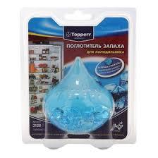 <b>Поглотитель</b> запаха для холодильника <b>Topperr</b> гелевый Голубой ...