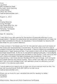 Cover Letter Law Firm Law Cover Letter Attorney Cover Letter Samples