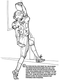 Cartoon Odell Beckham Jr Coloring Pages Collection 9 E With