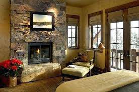 Stone Wall Interior Design View In Gallery Rustic Bedroom Turns The Into A  Lovely Focal Point From Associates Accent