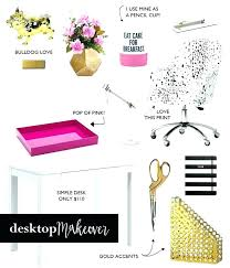 office decorative accessories. Decorative Home Office Accessories Desk Top Desktop Makeover I