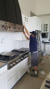 stove vent hood. diy rustic vent hood, reclaimed wood farmhouse large stove hood