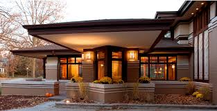 Prairiearchitect Modern Prairie Style Architecture By West Frank Lloyd  Wright Inspired Studio Architects Influenced L
