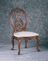 american drew jessica mcclintock home romance oval back side chair