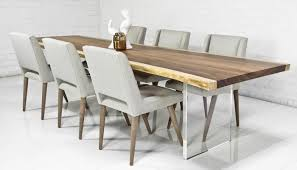 modern kitchen table sets. Solid Wood Contemporary Dining Table Breathtaking Modern 25 With Regard To All Decorations 3 Kitchen Sets L