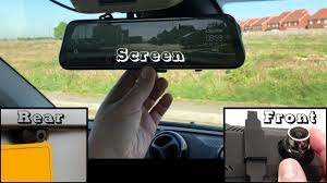 On reflection, LCD screen <b>rear-view mirror</b> dash-cams probably ...