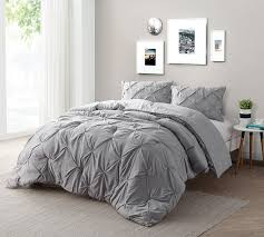 queen comforter on twin bed. Contemporary Queen Alloy Pin Tuck Twin Comforter  Oversized XL Bedding On Queen Bed
