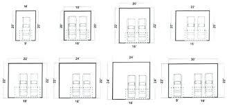 residential garage door sizes how wide is a 2 car garage door garage door residential garage