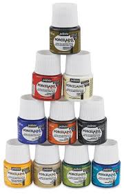 Dishwasher safe glass paints 1.5 oz for