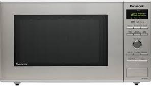 Panasonic Kitchen Appliances Panasonic 08 Cu Ft Countertop Microwave Oven Stainless Steel